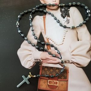 Jewelry - ITALY hand crafted rosary Necklace